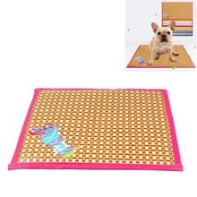 Petcircle Pet Mat Zomer hond Cooling Pad Dubbelzijdige Four Seasons Mat  Grootte: M (Roze)