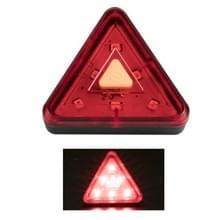 2 PCS Fiets Driehoek Tail Light Mountain Bike Light USB oplaadlamp