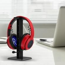 2 PCS-hoofdtelefoon-standaarddisplay-schap (zwart )