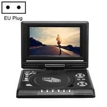7 8 inch draagbare dvd met tv-speler  ondersteuning sd / MMC-kaart / gamefunctie / USB-poort (EU-stekker)