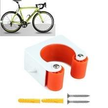 2 PCS Fiets Parkeren Gesp Kinderen Road Bike Mountainbike Eenvoudige Muur Mount  Stijl: Mountainbike (Oranje)
