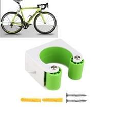 2 PCS Fiets Parkeren Gesp Kinderen Road Bike Mountainbike Eenvoudige Muur Mount  Stijl: Mountainbike (Groen)