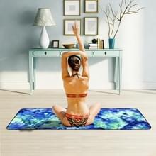 Microfiber Eco-vriendelijke Anti-slip handdoek opvouwbare Yoga Mat Sport Laken  Grootte: 183 x 63cm (Groen)