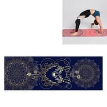 Draagbare gedrukte antislip milieubescherming Yoga Mat Laken  Grootte: 185 x 63cm (Saint Golden Wolf)
