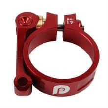 Litepro Seat Tube Clamp LP Folding Bike Seat Clamp CNC 41mm Geschikt voor 33 9 mm stoelbuis  kleur: rood