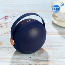 Draadloze Bluetooth Speaker Outdoor Card USB Portable Mini Ball Speaker (Blauw)