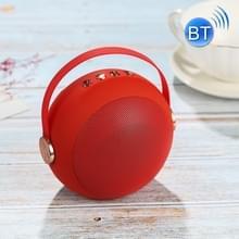 Draadloze Bluetooth Speaker Outdoor Card USB Portable Mini Ball Speaker (Rood)