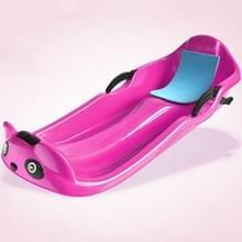 Grass Board Aadult Verhoging Verdikking Kinderen Snowboard Sand Board Sled Car Ski Car Fineer  Grootte: 100 x 43 x 29cm (Roze)