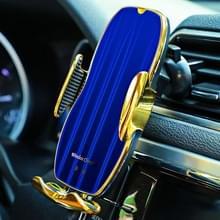 H8 Infrarood Inductie Magic Clip Magnetische Auto Telefoon Navigatie draadloos opladen beugel snel opladen (Noble Gold)
