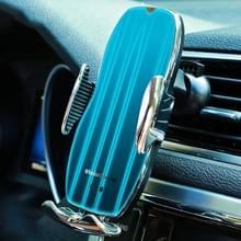 H8 Infrarood Inductie Magic Clip Magnetische Auto Telefoon Navigatie draadloos opladen beugel snel opladen (Noble Silver)