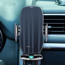 H8 Infrarood Inductie Magic Clip Magnetische Auto Telefoon Navigatie Draadloos opladen Bracket Snel opladen (Low-key Zwart)