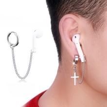 10 PCS A00114 Wireless Bluetooth Headset Anti-lost Titanium Steel Niet-vervagende oorbellen  stijl: oorbellen