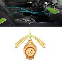 Auto Aromatherapie Roterende Balans Dragonfly Creative Perfume Decoratie (Golden)