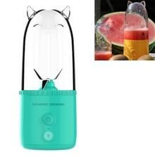 Cute Pet Juicer Cup Mini Portable Electric Stiring Juice Cup USB oplaadbare afneembare juicer (Blauw)