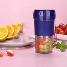 Kleine draagbare huishouden Mini Electric Juicer Multifunctionele USB Automatische Vruchten juicer (Blauw)