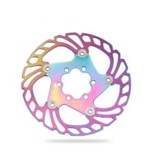 IIIPRO Floating Disc Road Mountain Bike Six Nail Disc Brake Disc  Grootte: 140mm (Kleurrijk)