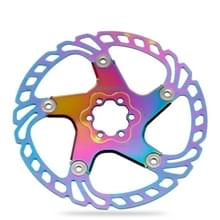 IIIPRO Floating Disc Road Mountain Bike Six Nail Disc Brake Disc  Grootte: 203mm (Kleurrijk)