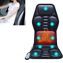 YJ-308 Car Massager Cervical Spine Neck Waist Car Home Verwarming Whole Body multifunctionele massage mat  specificatie: Deluxe Edition