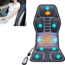 YJ-308 Car Massager Cervical Spine Neck Waist Car Home Verwarming Whole Body multifunctionele massage mat  specificatie: Premium Edition