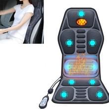 YJ-308 Car Massager Cervical Spine Neck Waist Car Home Verwarming Whole Body multifunctionele massage mat  specificatie: Premium versie (24V voor vrachtwagens)