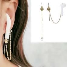 Universele Bluetooth Headset Anti-verloren oorketen Pentagram Oordraad Oorbellen