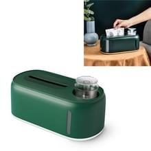 Bevochtiging Tissue Box Creative Wet and Dry Tissue Box  Kleur: Donkergroene Witte bodem