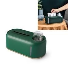 Bevochtigende tissue box creative wet en droog weefsel doos  kleur: donkergroene gouden bodem