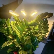 Full Spectrum Clip Plant Growth Lamp Sappige Vullicht  Stekker specificaties: EU Plug (Drie hoofden)