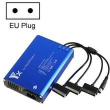 Voor DJI Phantom 4 Pro Advanced+ Charger 4 in 1 Hub Intelligent Battery Controller Charger  Plug Type:EU Plug