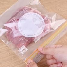 4 Sets verzegelde zak vers voedsel verpakking zak huishouden verdikt koelkast opbergt plastic zak  grootte: Medium (25 stuks / set)