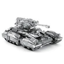 2 PCS 3D Metalen geassembleerd tank model DIY puzzel  stijl: Schorpioen tank