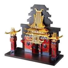 3D Metal Assembly Model Boek Einde van Drygon Gate Puzzel Speelgoed