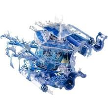 3D Metal Geassembleerd Model Lunar Geverfd Dawn Sedan Stoel Puzzel Speelgoed