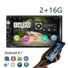 7-inch Android Universal Navigation Car MP5 Player Car Reversing Video Integrated Machine  Specification:2+16G