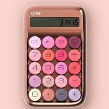 LOFREE Jelly Bean Calculator Financial Office Kleine Draagbare Mechanische Key Groene As Retro Calculator