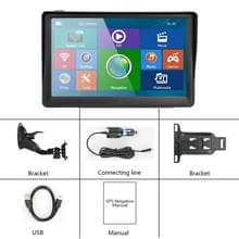 7-inch GPS Navigator Ingebouwde Map FM Radio MP3 MP4 Video en Muziek afspelen  Kleurclassificatie: Amerika Kaart