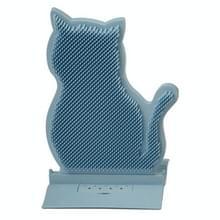 Fixed Door Seam Cat Rubbing Device Anti-jeuk & Hair Removal Massage Brush Pet Supplies(Blue)