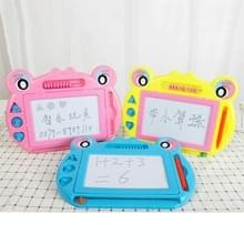 3 PCS Mini Magnetic Drawing Board Cartoon Frog Writing Board Kinderen Speelgoed  Random Color Delivery