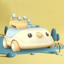 Kinderen multifunctionele simulatie Chick Phone tweetalige muziek speelgoed vroege onderwijs verhaal machine (Blauw)