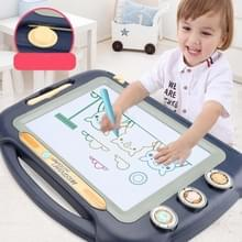 Kinderen Kleuren Graffiti tekentafel Magnetic Writing Board  Style:Set 2 (Blauw)
