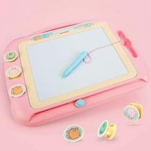 Kinderen Kleuren Graffiti tekentafel Magnetic Writing Board  Style:Set 2 (Roze)
