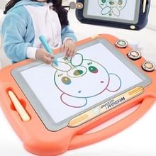 Kinderen Kleuren Graffiti tekentafel Magnetic Writing Board  Style:Set 2 (Oranje)