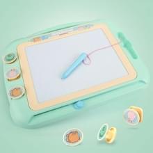 Kinderen Kleuren Graffiti tekentafel Magnetic Writing Board  Style:Set 2 (Cyan)