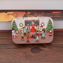 4 PCS Kerst Houten DIY Gift Kinderen Handgemaakte Santa Claus Puzzel Speelgoed (Klaslokaal)