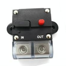 50A Auto Circuit Breaker Car Audio Fuse Houder Power Insurance Automatic Switch(Zwart)