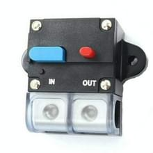 60A Auto Circuit Breaker Car Audio Fuse Houder Power Insurance Automatic Switch(Blauw)