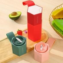 iDEAMAN Juicer Cup Portable Mini Juicer Juice Cup (Perzikroze)