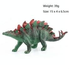 Simulatie Animal Dinosaur World Static Toy Models  Style: 6 PCS Stegosaurus