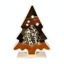 Kerstversiering Sfeer Lights Home Decoration Ambachten  Grootte: S (Gouden Kerstboom )