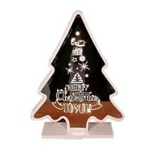 Kerstversiering Sfeer Lights Home Decoration Ambachten  Grootte: S (Zilveren Kerstboom)